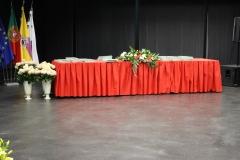 Mesa de diplomas
